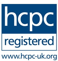 Sarah Gilks is registered with The Health and Care Professions Council (HCPC)